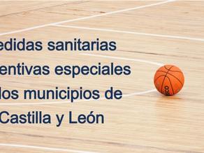 Actividad físico-deportiva en aquellas localidades con medidas sanitarias preventivas especiales