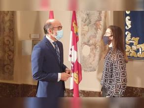 El Consejero de Cultura y Turismo recibe de nuevo a COLEF Castilla y León