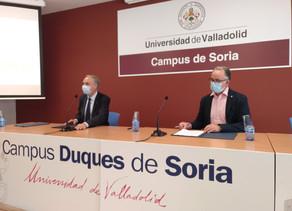 COLEF Castilla y León firma convenio con la Universidad de Valladolid