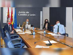 COLEF Castilla y León se reúne con la Junta de Castilla y León