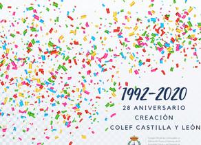 28º aniversario de COLEF Castilla y León