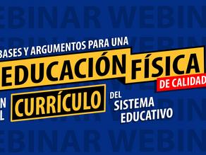 Webinar: 'Bases y argumentos para una EF de Calidad en el currículo'