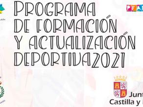COLEF participa por tercer año consecutivo en el Programa de Formación y Actualización Deportiva