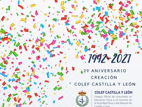 COLEF Castilla y León celebra la Asamblea General 2021 en su 29º aniversario