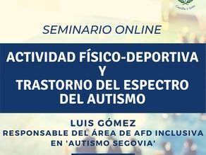 """FORMACIÓN: """"AFD y trastorno del espectro del autismo"""""""