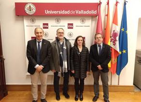 COLEF Castilla y León y la Universidad de Valladolid acuerdan tramitar un convenio de colaboración