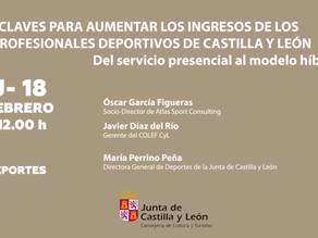 """FORMACIÓN """"Claves para aumentar los ingresos de los profesionales deportivos de Castilla y León"""""""