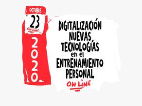 Jornada sobre digitalización en el entrenamiento personal