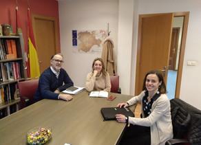 COLEF Castilla y León visita la Dirección General de Turismo de la Junta de Castilla y León