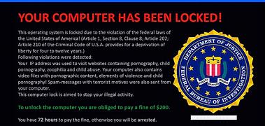 fake fbi warning
