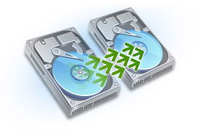 hard drive being cloned