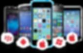 various smart phones