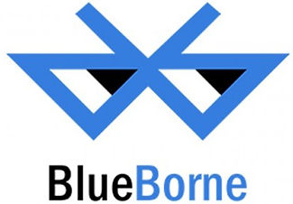 evil version of blue tooth logo