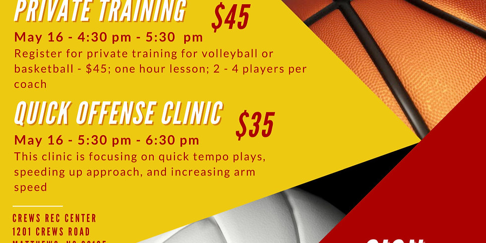 Quick Offense Volleyball Clinic