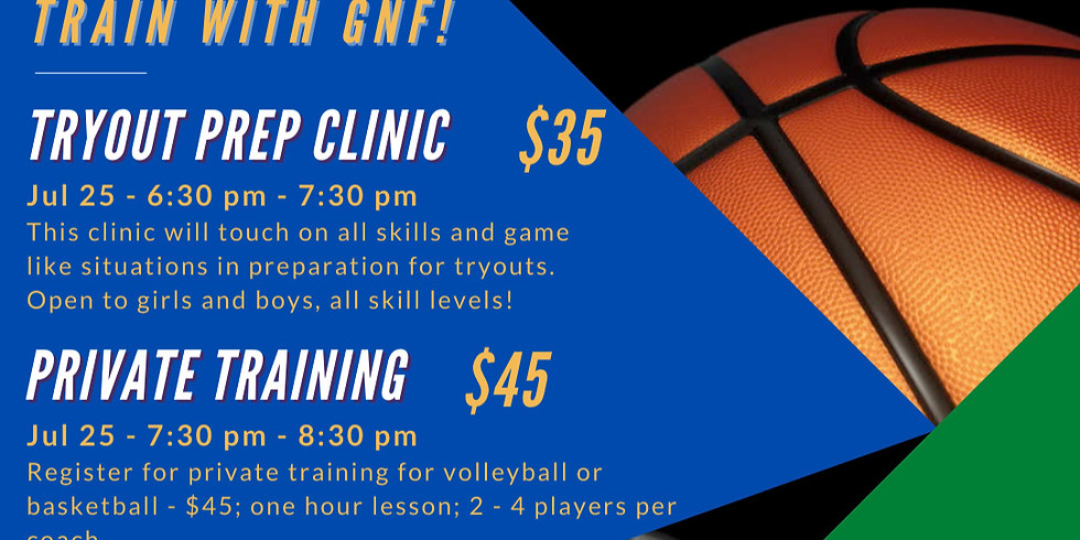 Tryout Prep Volleyball Clinic