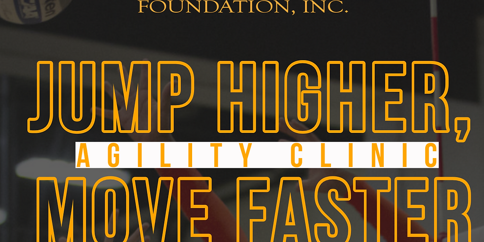 """""""Jump Higher, Move Faster"""" Agility Clinic"""