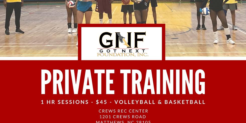 Private Training Request