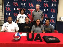 Aidon Love - Erskine College Volleyball Recruit
