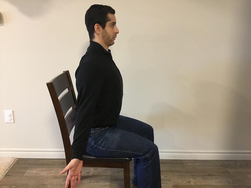 Posture, exercise, relief, office work, pain relief