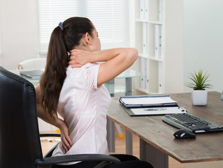 Our Top 5 Ways to Support Your Posture While Working From Home