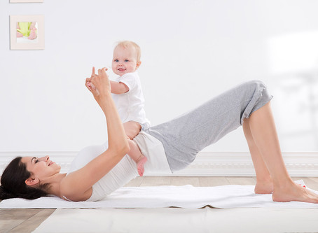 Pregnancy 4: 4 Exercises To Relieve Your New-Mom Backache