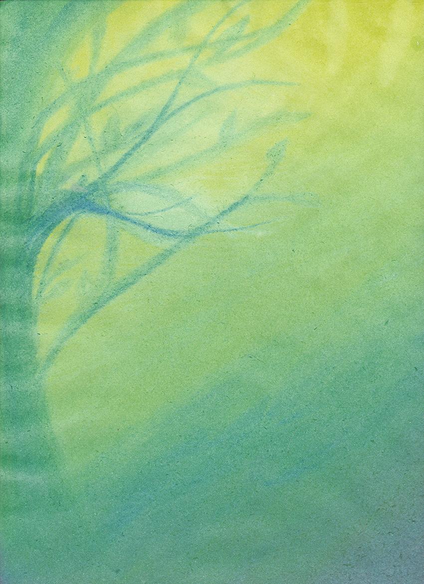 צבעי מים - עצים בעונות השנה