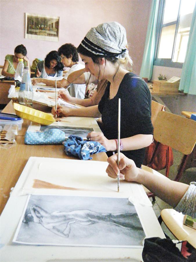 שיעור ציור