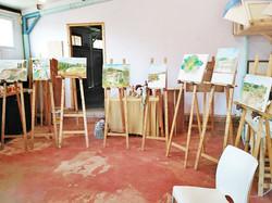 סדנת ציור נוף בצבעי שמן