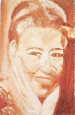 ציור בצבעי שמן - קולט אבולקר מוסקט