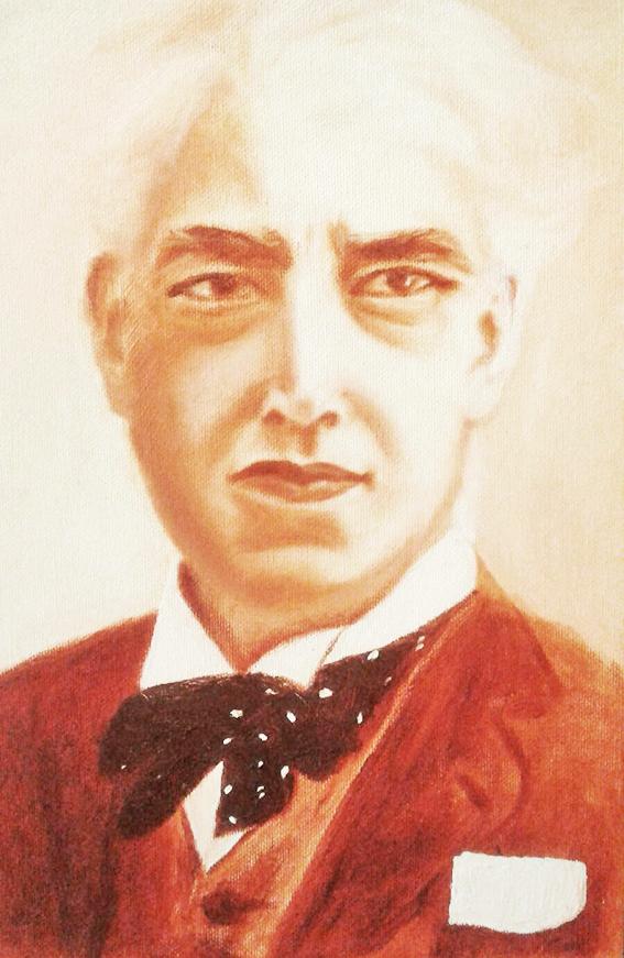 ציור בצבעי שמן - סטניסלבסקי