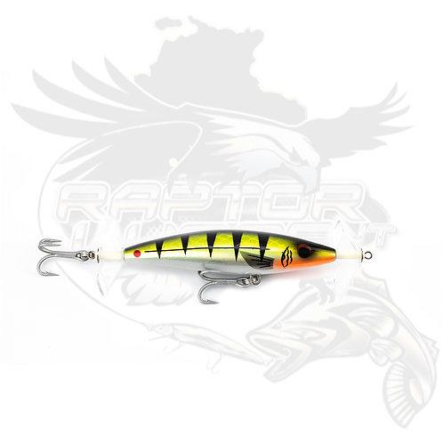 """115mm Raptor Fizz Bait """"Chartreuse Chrome"""""""