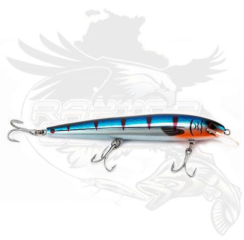 Raptor 7in Dominator Blue Chrome