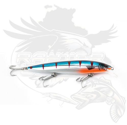 6 inch Patriot - Blue Chrome