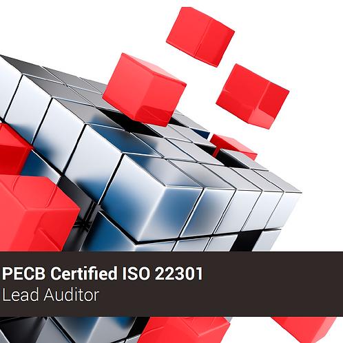 PECB ISO 22301 Auditor Líder - Oferta válida para ARGENTINA
