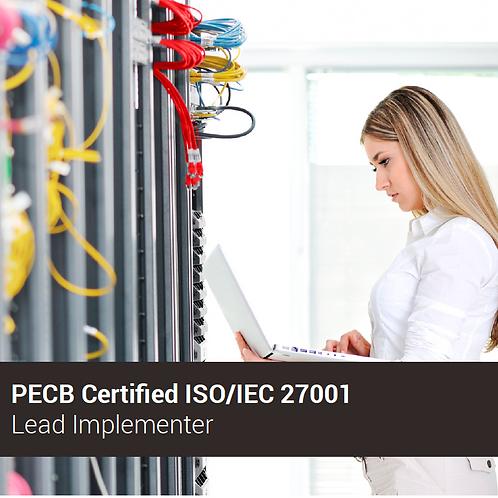 PECB ISO 27001 Implementador Líder - Oferta válida para ARGENTINA