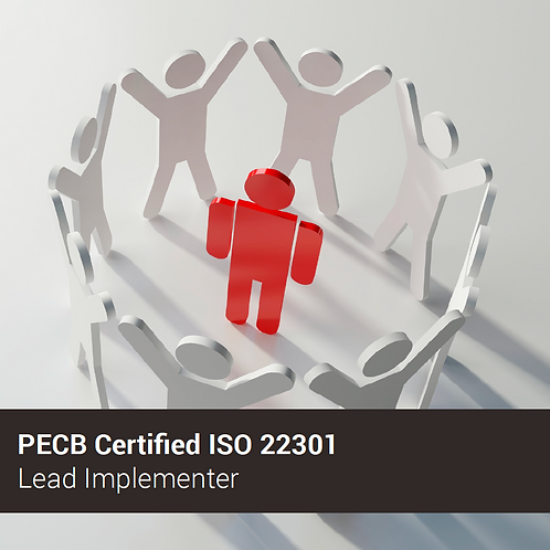 PECB ISO 22301 Implementador Líder - Oferta válida para ARGENTINA