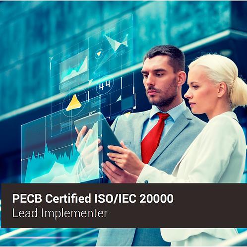 ISO 20000 Implementador Líder - Oferta válida para ARGENTINA