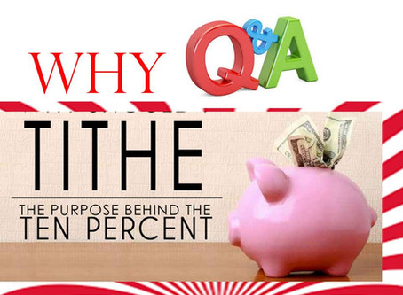 TITHE (3): Tithe Q & A