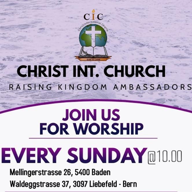 Sunday Service @ CIC Baden