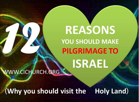12 Reasons You Should Make Pilgrimage To Israel