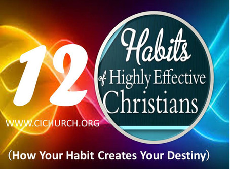12 Habits of Highly Effective Christians