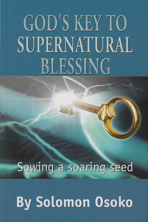 Key to The Supernatural Blessing