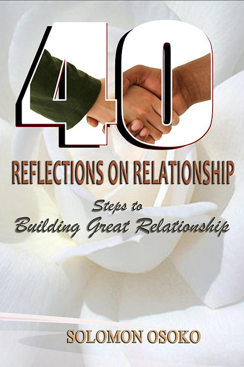 40 Relections on Relationship