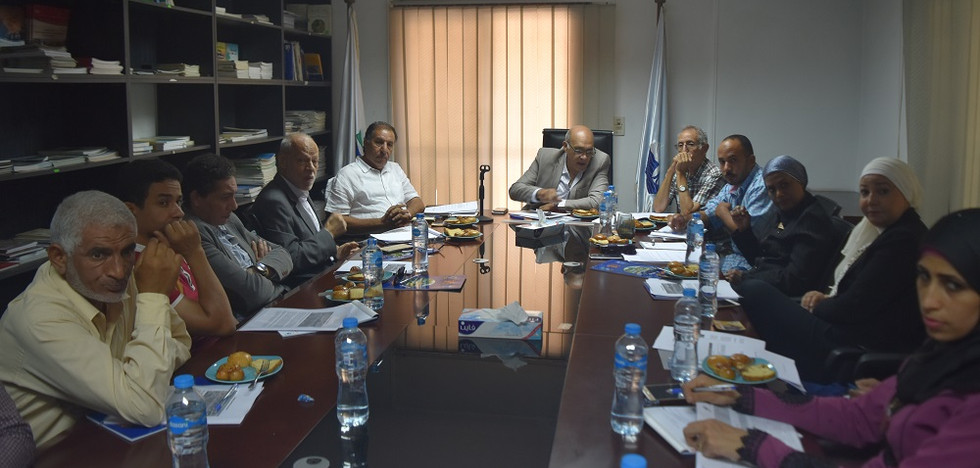 First NGOs meeting at GEF - SGP office