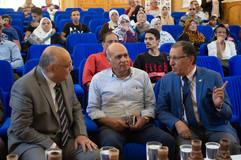 د. سامي زلط ود. عماد عدلي وا. نوار رئيس الإذاعة المصرية