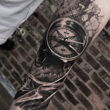 map and compass tattoo pinterest special