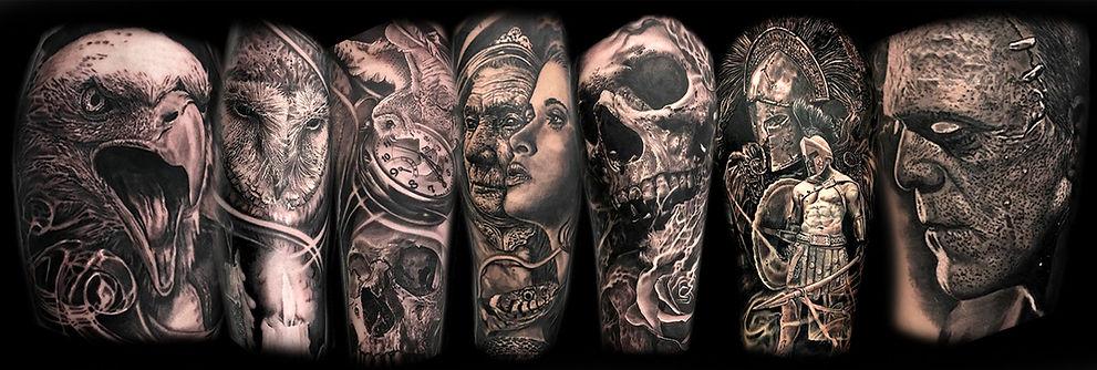 James Brennan Tattoos international award winnin tattoo artist James Brennan