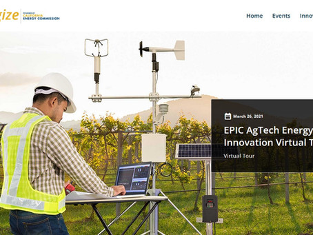 Polaris Presenting at the EPIC AgTech Energy Innovation Virtual Tour