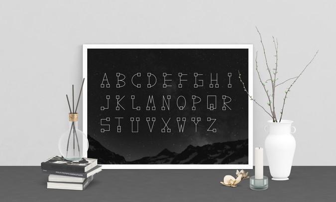 Galactrix Font Set