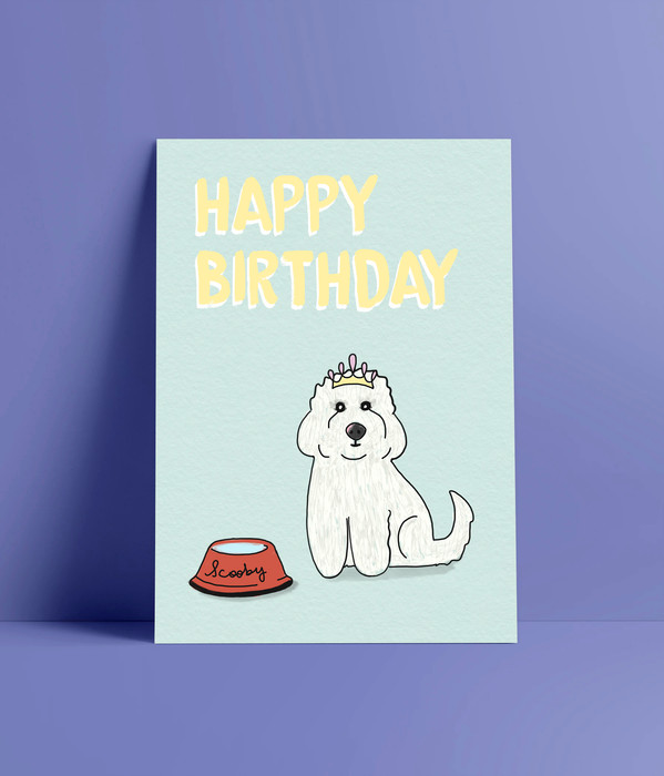 Personalized Birthday Greeting